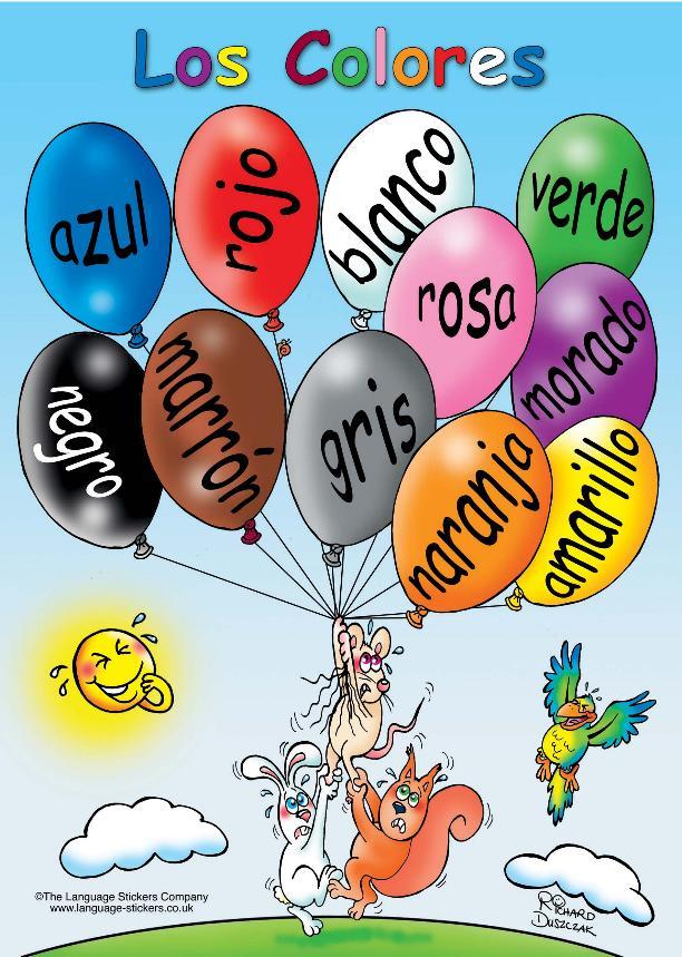 Poster De Los Color ES