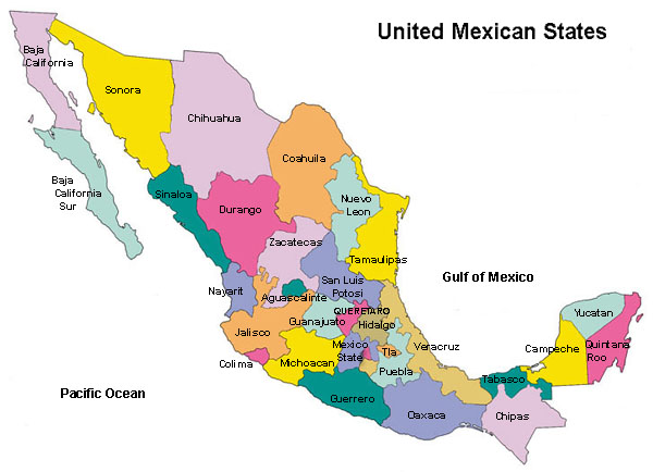 WhereisMexico - Where is mexico