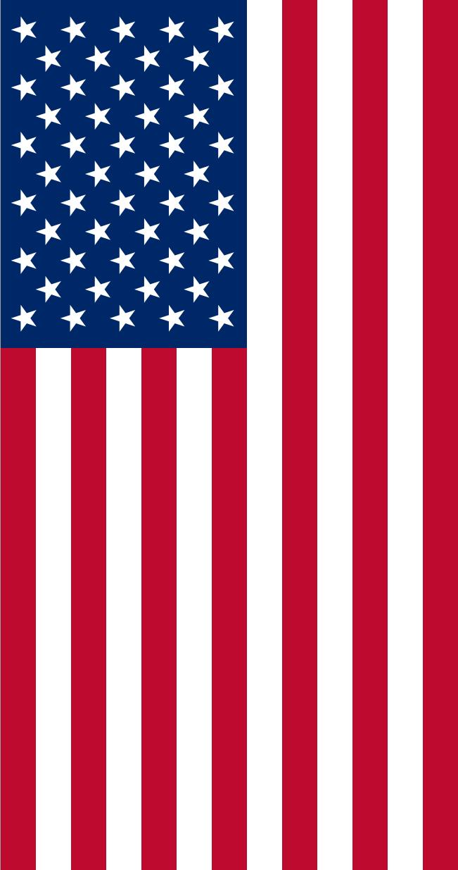 printable usa flag